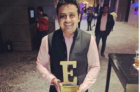 Jatin Varma, Founder, Comic Con India Wins Young Entrepreneur of the Year Award