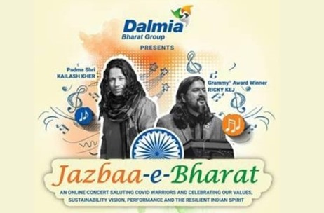 Dalmia Bharat Group Pays a Musical Tribute to Covid Warriors
