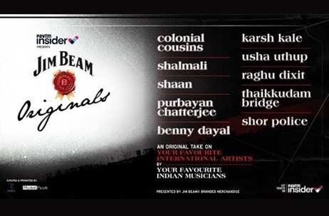 Indian Musicians to Re-interpret Works of Global Icons Through Jim Beam Originals From November 7