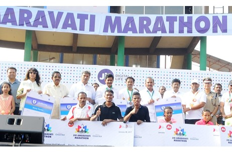 Thousands Participate in Jio Amaravati Marathon Managed by Mira Events