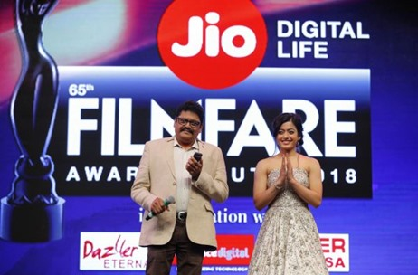 Jio Filmfare Awards South 2018 Witnesses Cinematic