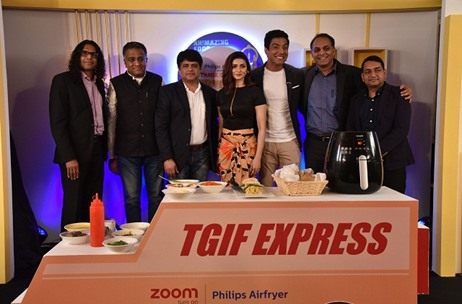Zoom & Philips Launch 'Thank God Its Fryday' Eight City Tour with Unique Food Treasure Hunt