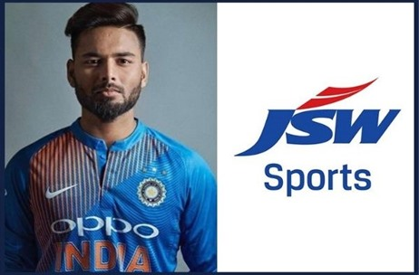 Cricketer Rishabh Pant Joins JSW Sports Athlete Roster on Exclusive Talent Management Contract