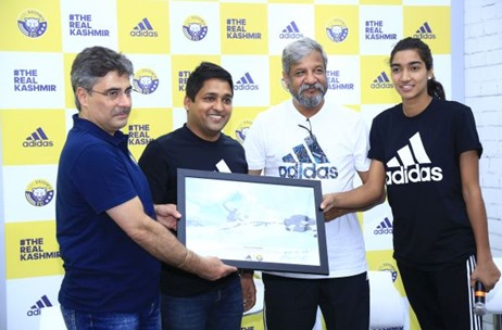 Adidas and Real Kashmir FC Showcase the Magnificence of Jammu and Kashmir