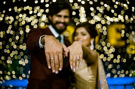 A Gorgeous Engagement Clicked by The Photo Diary