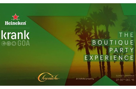 Heineken Cranks Up the Boutique Party Experience with the 6th edition of 'Krank Goa 2016'