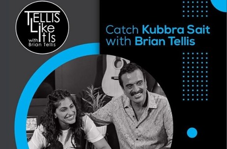 Kubbra Sait Talks About her Life Journey, Passion, Values & More on Tellis Like It Is!