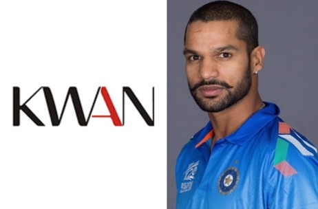 Shikhar Dhawan Becomes a Part of KWAN Entertainment's Sports Portfolio
