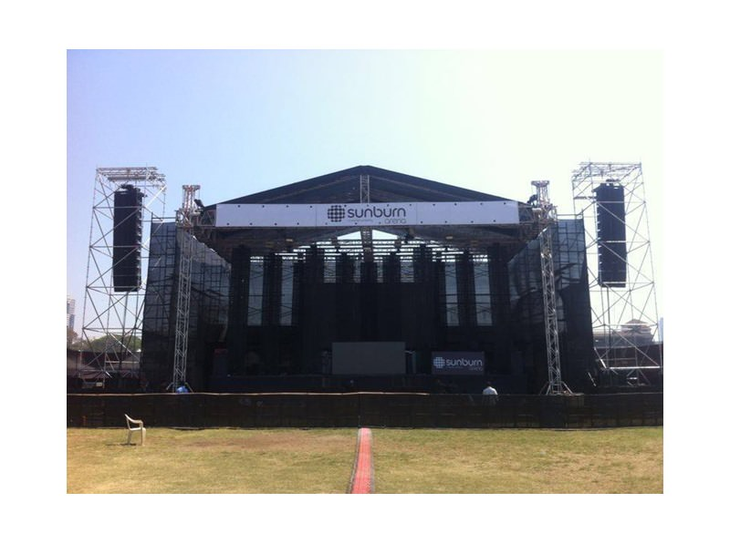 SOUND.com brings in safe scaffolding, Layher, to events in India