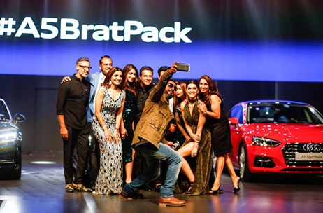 #A5BratPack Launch for Audi India by THOT Amazes Audiences with a Stunning Fashion Show