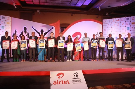 Procam International Announces the 10th Edition of Airtel Delhi Half Marathon with 2 New Sponsors