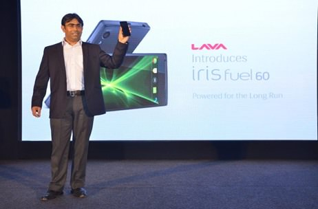 Lava launches its powerful Iris Fuel 60 smartphone