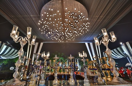 A lavish th wedding anniversary classily styled by plush events
