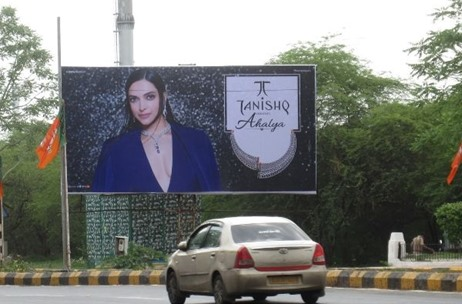 Tanishq Partners with OMI Outdoor Agency of Laqshya Media Group to Launch & Execute Campaign -Ahalya