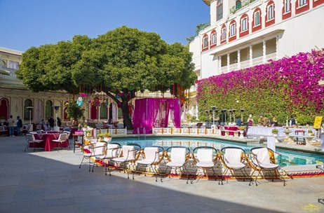 One Wedding, Five Royal Venues, One City – An Udaipur Wedding Extravaganza by F5 Weddings