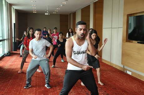 Vivanta by Taj Gurgaon Hosts Dance Workshop in Association with Shiamak