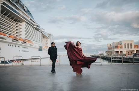 A Fairytale Wedding on a Cruise Liner – Planned by Var Vadhu and Captured by Israni Photography