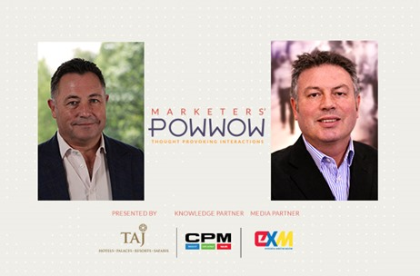 CPM International's Mike Huges and Paul Woolley Join Speakers at The Taj Presents Marketers' POWWOW