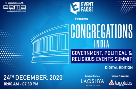 'Congregations India Summit' on Government, Political and Religious Events to be Held on December 24