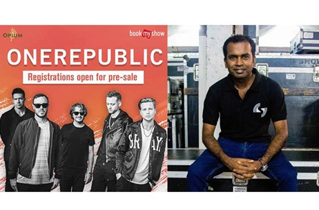 SOUND.COM Brought On-board for OneRepublic Concert in Mumbai
