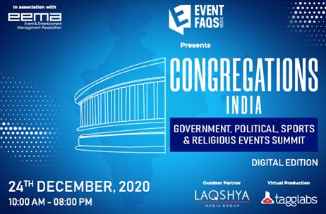 #CongregationsIndia Unveils Stellar Speakers List to Decode Scope of Government Events on Dec 24