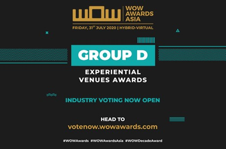 WOW Awards Asia Opens Industry Voting for the Nominations of Experiential Venues by Expert Panel