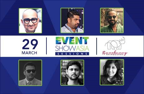 First of Event Show Asia Sessions to Take Place on March 29 at Razzberry Rhinoceros in Mumbai