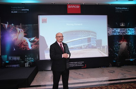 Barco Unveils the Future of Projection Technology in India at ProAV Partner Meet in New Delhi