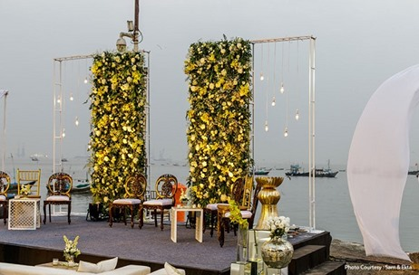 Aash Studio Transforms Mumbai's Mukesh Mills for a Serene Wedding