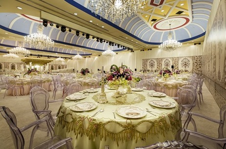 The Ritz-Carlton, Doha Luxuriates in Celebrations of A Lavish Indian Wedding by Divinity Weddings