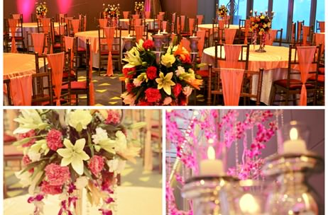 A Classy Victorian Wedding Reception By Designer Events Inc India