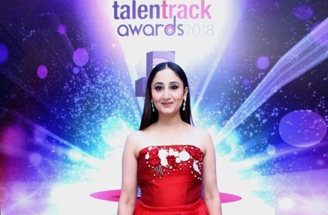 talentrack awards 2018 Hosted By Gitikka Ganju Dhar In Mumbai