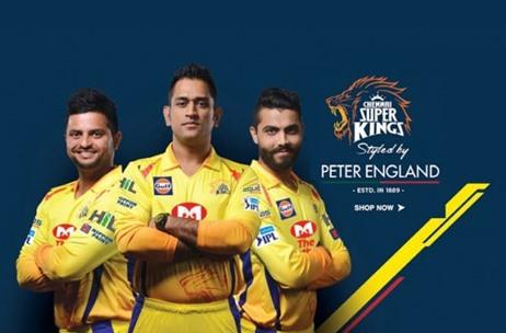 Peter England Ties Up With Chennai Super Kings As Official Apparel Sponsors