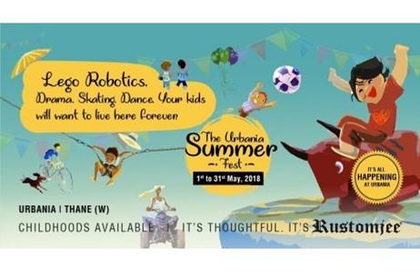 Rustomjee Brings A Breeze Of Fresh Air Through 'Urbania Summer Fest 2018'