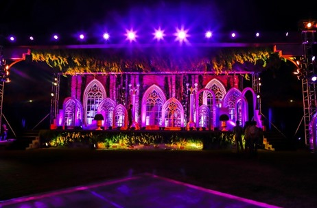 Oxford Golf Course Pune Hosts A Family Wedding At the Venue Transformed by Celebrations