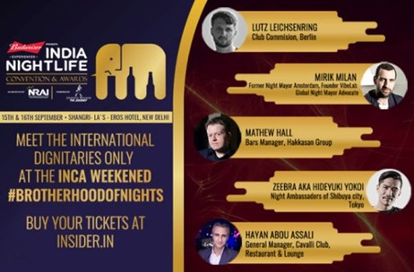 India Nightlife Convention And Awards Moves To Delhi For Third Edition