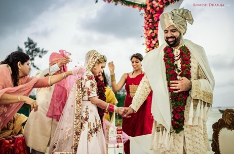 Romesh Dhamija Productions Captures A Beautiful Goa Wedding Planned by The Doli Diary