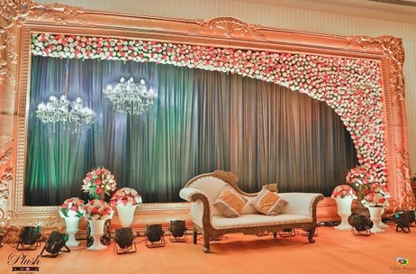Plush Weddings and Events Waves the Magic Wand Again With This Glitzy Engagement