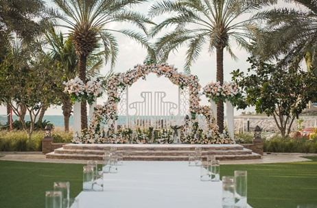 KM Events Executes an Elegant Wedding at Four Seasons Jumeirah, UAE