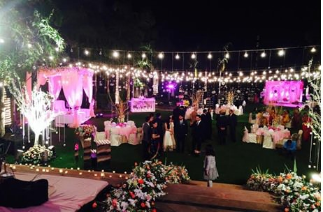 indian wedding planners creates floral extravaganza for