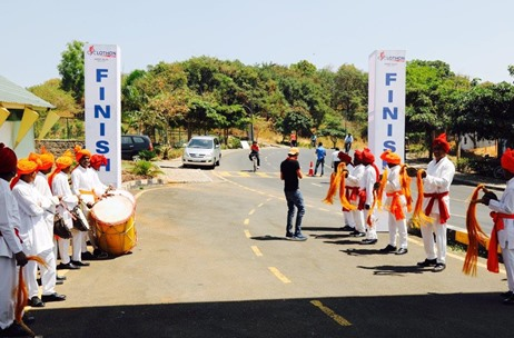 The Moving Heads Delivers Cyclothon, Rain & Foam Holi Party for ICICI Offsite at Aamby Valley