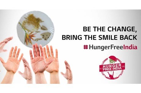 LG Rolls Out 'Hunger Free India' Campaign