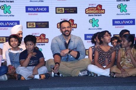Rigger House Launches Discovery Kids Show Little Singham with a Roar