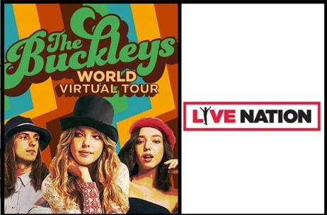 Live Nation Presents The Buckleys' First Ever Virtual Tour Across the Globe!