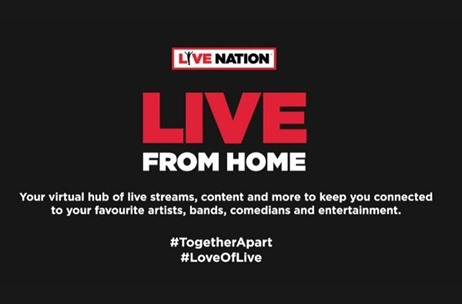 Live Nation Middle East Launches Global Initiative 'Live From Home' to Support Young & Fresh Talent