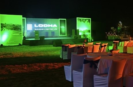 A golf-like ambience @ Lodha's Channel Partner Meet