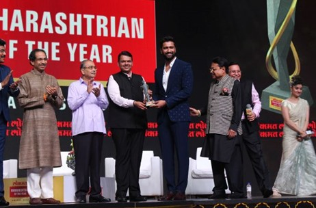 Dome@NSCI Hosts 'Lokmat Maharashtrian of the Year Award' Managed by Pentagon Events