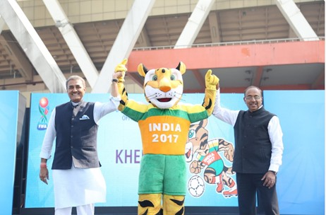 DDB Mudramax Produces the FIFA U-17 World Cup India 2017 Mascot Launch Event