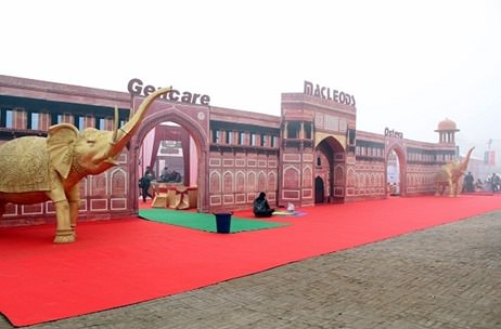 Work Ventures Create Mughal Themed Stall For Macleods Pharma At AICOG '16