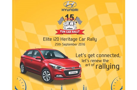 Rashi Entertainment Brings Back Family Fun Car Rally for its 15th Edition; Partners with Hyundai